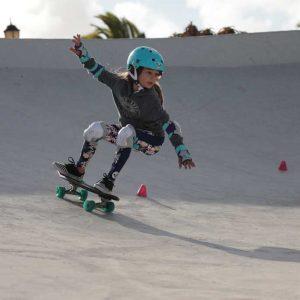 skate surfer